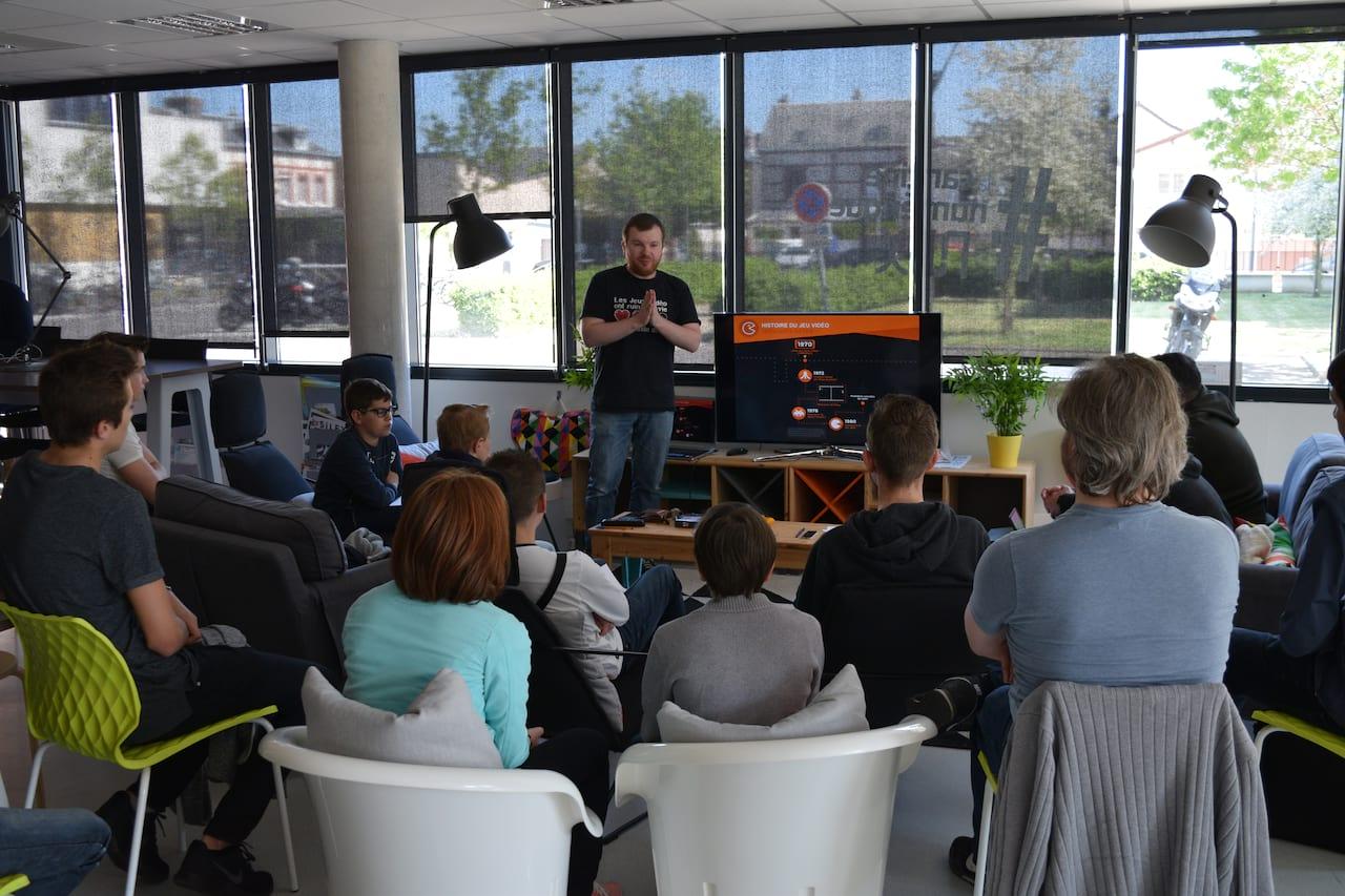 Les ateliers «découverte des métiers du jeu vidéo» by Gamit !