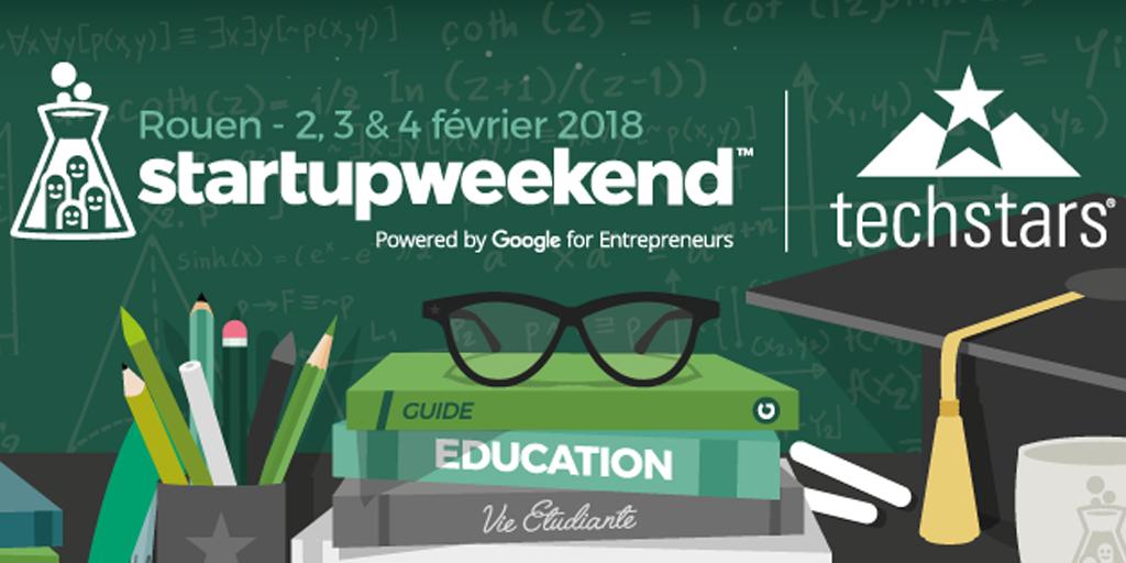 Startup weekend Rouen : Réinventez l'Education et la vie étudiante
