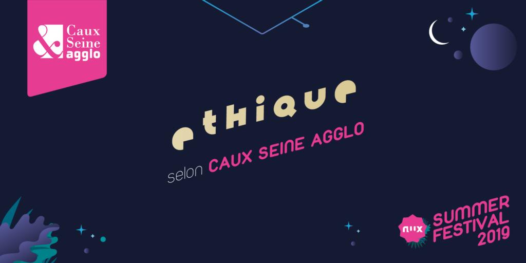 Caux Seine Agglo, partenaire éthique du NWX Summer Festival