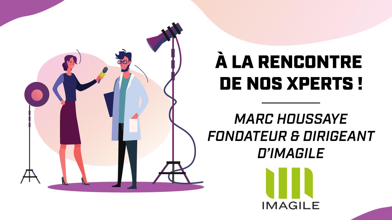 Imagile et Marc Houssaye