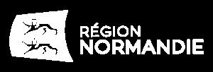 Logo Région Normandie (Paysage Blanc)@3x